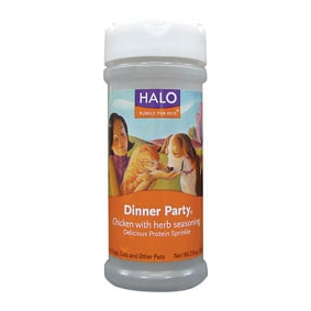 Halo, Purely For Pets Dinner Party Protein Chicken W/Herbs