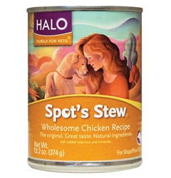 Halo, Purely For Pets Spot's Stew for Dogs Chicken
