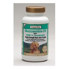 Naturvet Glucosamine DS With MSM 60 Tabs for Dogs