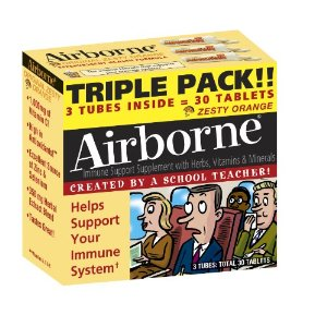 Airborne Triple pack Zesty 30 Tablet