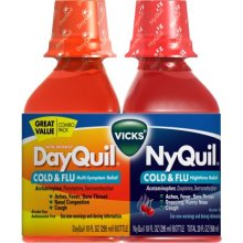 Vicks Dayquil Nyquil Cold & Flu Combo Pack 1 ea