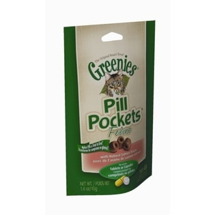 Greenies Pill Pockets For Cats Salmon/ Chicken