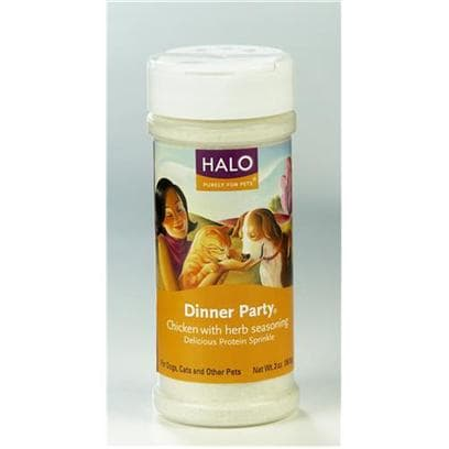 Halo Treats Dinner Party Chicken & Herbs for Cats