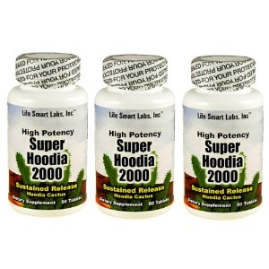 2000 mg Time Released Super Hoodia 2000 Hoodia Gordinii 180 pills 3 Month