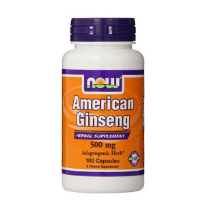 Now Foods American Ginseng 500mg